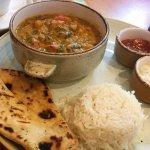 Vegitarian curry dish