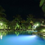 Adults Pool (at night)