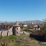 Panoramic view fom the castle