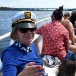 Enjoying cruise with Bubby
