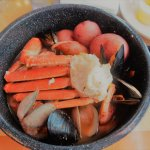 Low country boil is amazing!