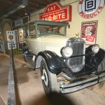 One of many historic vehicles displayed at the museum