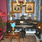 One of many organs and pianos in the museum