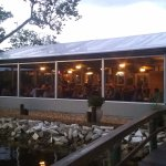 Night time at Lulu's Waterfront Grille
