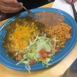 Cheese Enchilada's with Green Chile