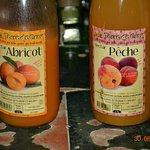 provenance des jus de fruits, exclusivement du terroir!