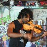 The Incredible crazy, amazing violinist Hezron Chetty