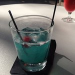 Blue Miami cocktail