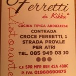 Photo of Ristorante Ferretti Pineto