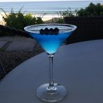 Made-in-Maine Blue-tini so yummy!
