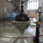 Font Exeter cathedral