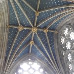 Vaulting Exeter cathedral