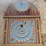 Astronomical clock Exeter cathedral