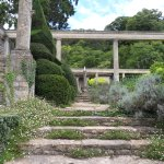Steps to Great Terrace, Peto Garden at Iford Manor