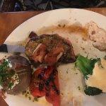 Steak with baked potato