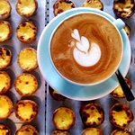 Try our pastéis de nata with any coffee