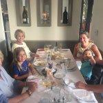 Family dinner at Modo Mio's Rustic Italian Kitchen. Newport Beach, CA July, 2017