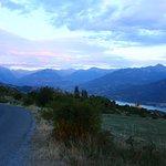 route accés au lac de Saint Appolinaire