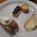 sampling more desserts, only okay, not great