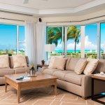 Ocean Front Luxury 1 Bedroom Living Room