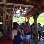 Love the outdoor bar