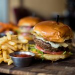 Bison Blue Cheese Burger
