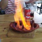 Tapa de Bacalhau e Chouriço ao Inferno