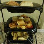 朝食のパン類