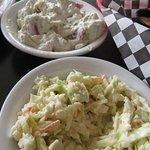 Cole slaw and Potato salad 'sides'