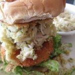 Jumbo Lumb Crab Cake sandwich (lunch) - $12