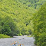 The unspoiled valley of the Deerfield River