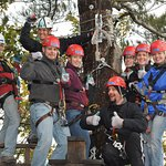 Zip Line Canopy Tours connect you to friends and family!