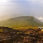 View from Mt. Nyiragongo, DR Congo