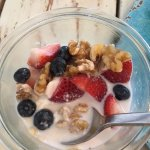 Muesli - delicious!! looked better before I dug into it!