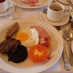 Breakfast#HAggis#Bloodpudding - but I loved it