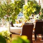 A spacious sunny terrace to enjoy summer days.