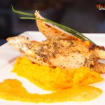Our specialty: Chicken breast from Chef.