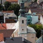 Kościół widziany z Zamku