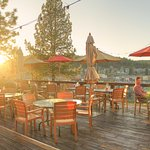 On the Deck at Cottonwood is the place to be during the summer