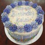 Birthday cake by Whimsical Bakery