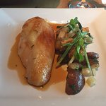 Perfect roasted chicken breast with tarragon jus