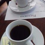 El cafecito de bienvenida