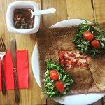 Chorizo&Cheese crepe
