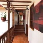 corridors in hotel