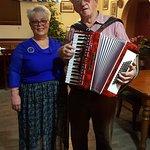 The wonderful accordian player