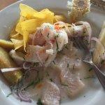 Supuestamente es el mejor restaurante de la ciudad, pedi ceviche clásico (el cual indicaba era p