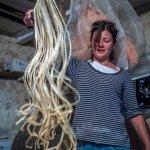 Hostess Francesca making fresh pasta