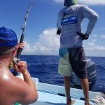2017 Catch - 1 1/2 hour fight with a Blue Marlin w/ the help of 'Coach' Pepe