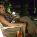 Rooftop terrace, nice evening place for a drink