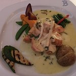 Dinner at Bonaparte-Chicken Breast With Brie Sauce